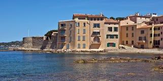 St Tropez - архитектура города стоковая фотография