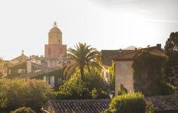 St Tropez башня с часами стоковые фото