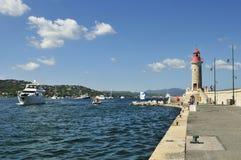 St Tropez, Коут d Azur, Провансаль, Франция стоковые фотографии rf
