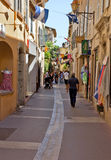 St Tropez - улицы города стоковые изображения rf