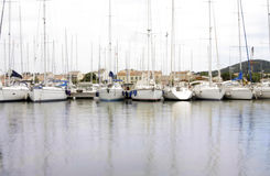 St tropez boats Stock Images