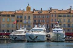 St Tropez - Cote d'Azur - французское Ривьера стоковые изображения