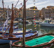 St Tropez - Cote d'Azur - French Riviera royalty free stock images