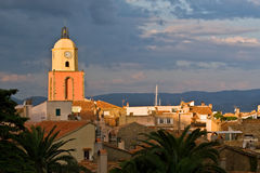 St.Tropez en France images libres de droits