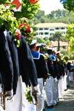 St Tropez Fete de la Bravade Procession Royalty Free Stock Images