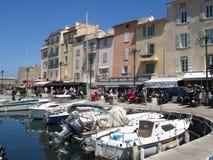 St Tropez, França Fotografia de Stock
