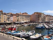 St Tropez, France Royalty Free Stock Images