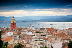 St Tropez Frankrike royaltyfri fotografi