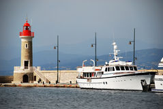 St. Tropez Harbour Stock Image