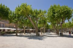 St-Tropez park Stock Photography