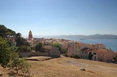 St Tropez vanuit gezichtspunt stock afbeelding