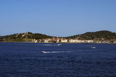 St tropez view Stock Photography