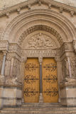 St Trophime Portal Detail (Arles, France) Stock Photo