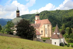 St Trudpert's abbey. In Black Forest in Germany Stock Photography