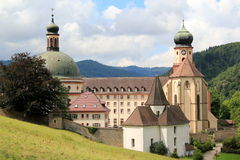 St Trudpert's abbey. In Black Forest in Germany Royalty Free Stock Photo