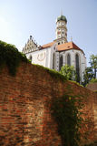 St. Ulrich Basilica Royalty Free Stock Image