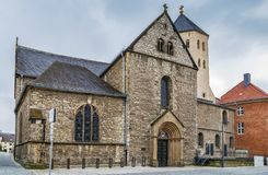 St Ulrich Church, Paderborn, Tyskland royaltyfria foton