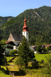 St. Ulrich at the Pillersee Stock Photo