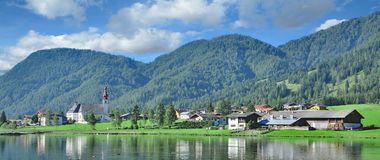 St Ulrich am Pillersee, Tirol, Áustria fotos de stock