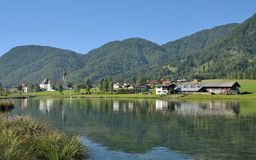 St. Ulrich am Pillersee,Tirol,Austria Stock Photos
