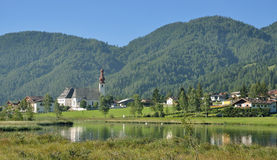 St. Ulrich am Pillersee,Tirol,Austria Royalty Free Stock Photo