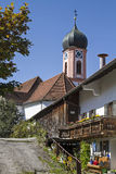 St. Ulrich in Seeg Stock Images