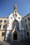 St. Ursula Catholic Church in Sopron. The big and old Catolic Church in Sopron. That name is St. Ursula or Szent Orsolya Royalty Free Stock Photo