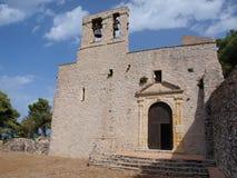 St Ursula kyrktar, Erice, Sicilien, Italien Arkivfoton