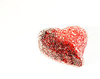 st-valentijnskaart hart Royalty-vrije Stock Foto