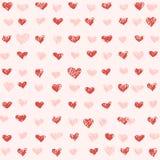 St Valentijnskaartenpatroon Royalty-vrije Stock Fotografie