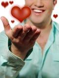 st-valentin Royaltyfri Fotografi