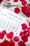 St-valentin dag Arkivbilder