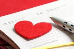 st-valentin för dag s Arkivfoto