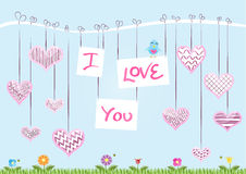 St Valentine's Day Card Stock Image