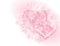 St valentine_1. Background pattern for st. valentine`s card Stock Photography