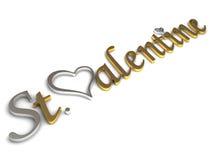 St.Valentine illustrazione vettoriale