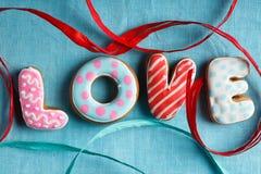 St. Valentine cakes - Voorraadbeeld Stock Foto