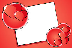 St. Valentine Card Royalty Free Stock Photography