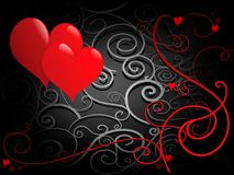 St. Valentine`d Day Greeting c Stock Image