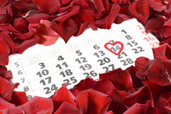 St Valentine Dag Royalty-vrije Stock Foto