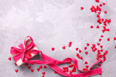 St. Valentine day background. Royalty Free Stock Images