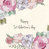 St Valentine day card Stock Images