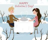 St. Valentine day card Stock Photos