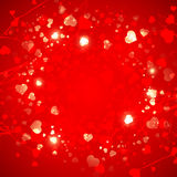 St.Valentine Day Heart  Background Royalty Free Stock Images