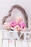 St Valentine Day o concepto del amor Imágenes de archivo libres de regalías