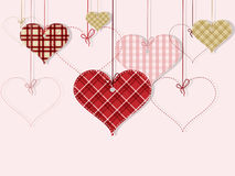 St Valentine day's greeting card Royalty Free Stock Photo