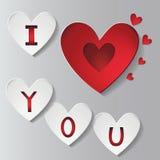 St valentine day vector illustration Stock Photos