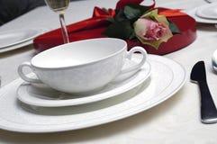 St.Valentine diner Royalty-vrije Stock Fotografie