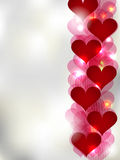 St. Valentine greeting card Royalty Free Stock Images