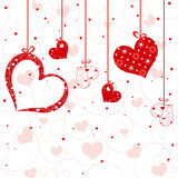 St Valentine greeting card Royalty Free Stock Photography